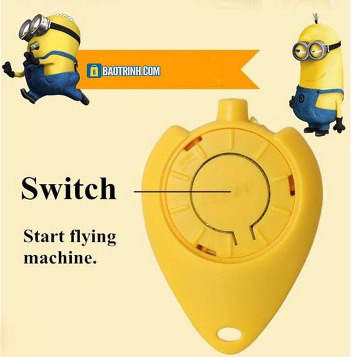 Máy bay cảm ứng Minion - có Remote 3
