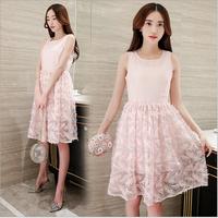Đầm ren thời trang cao cấp - 225831637