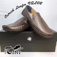 Giày da TBN San Marcos Ostrich Loafer VQL02
