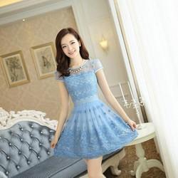 HÀNG NHẬP LOẠI 1 : Đầm ren công chúa cao cấp