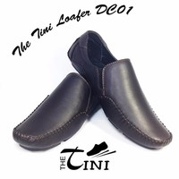 Giày mọi Nam da thật Tini Loafer DC01 – màu nâu