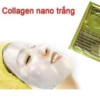 Combo 3 Mặt nạ Collagen đắp mặt nano trắng!
