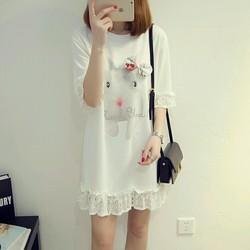 Đầm dạo phố dễ thương cho bạn gái