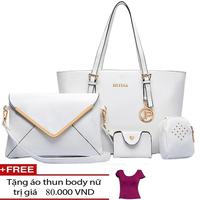 HÀNG NHẬP CAO CẤP- Bộ 4 túi xách nữ SHYINA hàn quốc