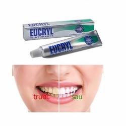 Kem Đánh Tắng Răng cho nam Eucryl 62g Uy Tín Chất Lượng