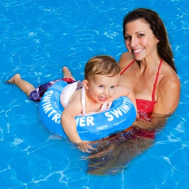 phao bơi swim-trainer cho bé - blue 1