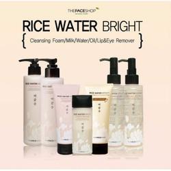 Tấy trang mắt môi Rice Water Bright Lip and Eye Remover TFS