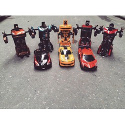 Robot Biến Hình Transformer Điều Khiển Từ Xa