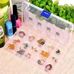 Combo 2 hộp nhựa đựng đồ đa năng 15 ngăn
