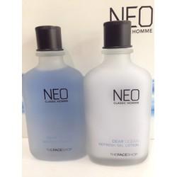Bộ sản phẩm chăm sóc da Nam Dear Ocean Homme Refresh Skin Care Set