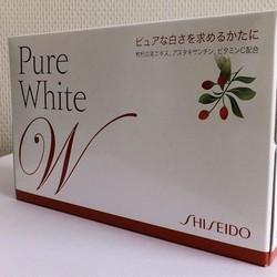 Nước uống dưỡng trắng da Shiseido Pure White