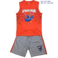 Bộ người nhện đáng yêu cho bé