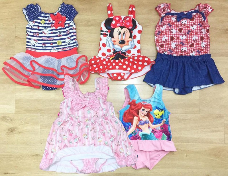 Đồ bơi Disney cho bé gái 1-6T 1