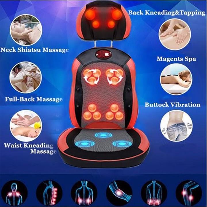 Ghế massage-đệm massage Hàn Quốc - 2 mảng 2 D - mã MD4 1
