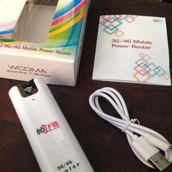 Bộ Router Phát Wifi 3G.4G Kiêm Pin Dự Phòng 2200MAH