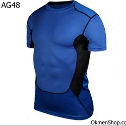 Áo tập gym thể hình nam body AG48