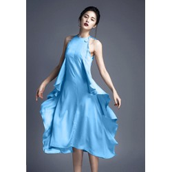 Đầm Lụa Thiết Kế Mới Lạ Phong Cách - DXM208