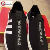 giầy lười Armani nam