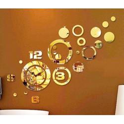 Đồng hồ dán tường mẫu mới