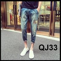 Quần jeans Harem nam mốt hè 2016