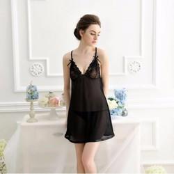 Váy ngủ màu đen quyến rũ TK559