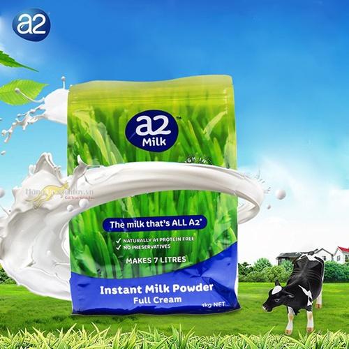 Sữa tươi dạng bột nguyên kem của A2 úc