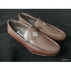 Giày lười LTM03016 chất liệu da thật dáng trẻ trung