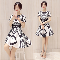 Đầm xòe thời trang cao cấp - B061209