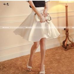 Chân váy thun xoe2eo bản to BA422