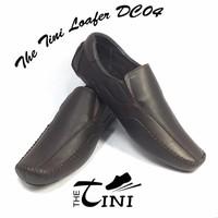Giày mọi nam Tini Loafer DC04 màu nâu