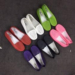 Giày lười nhựa lưới VV12