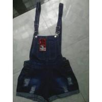 Váy yếm jean short