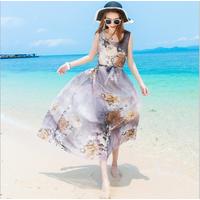 Váy maxi đi biển thời trang nữ cao cấp - B061112