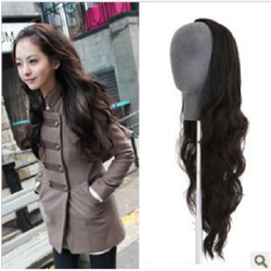 Tóc nửa đầu xoăn dài 60 cm