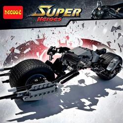Mô hình lắp ghép xe môtô Batman