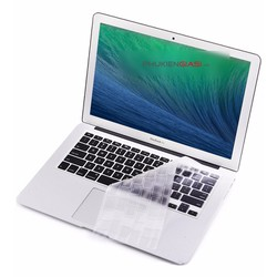 Miếng bảo vệ bàn phím Macbook 13.3in 15.4in 17in silicon trong mỏng