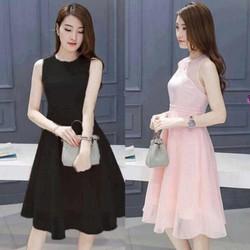 Đầm xòe cúp ngực thiết kế Korea