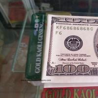 Ví da cao cấp in hình tiền 100 dolla - hàng loại 1 giá tốt
