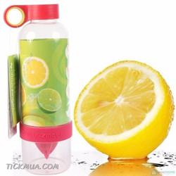 Bình đựng nước đa năng Citrus Zinger Hồng đậm - GD017