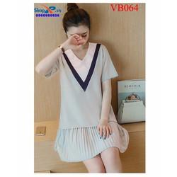 Đầm bầu phong cách Hàn Quốc