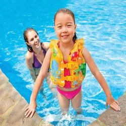 Áo phao bơi hình cá Intex 59661 cho bé