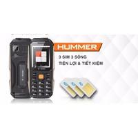 S-mobile Hummer: Điện thoại 3 SIM, pin chờ 30 ngày