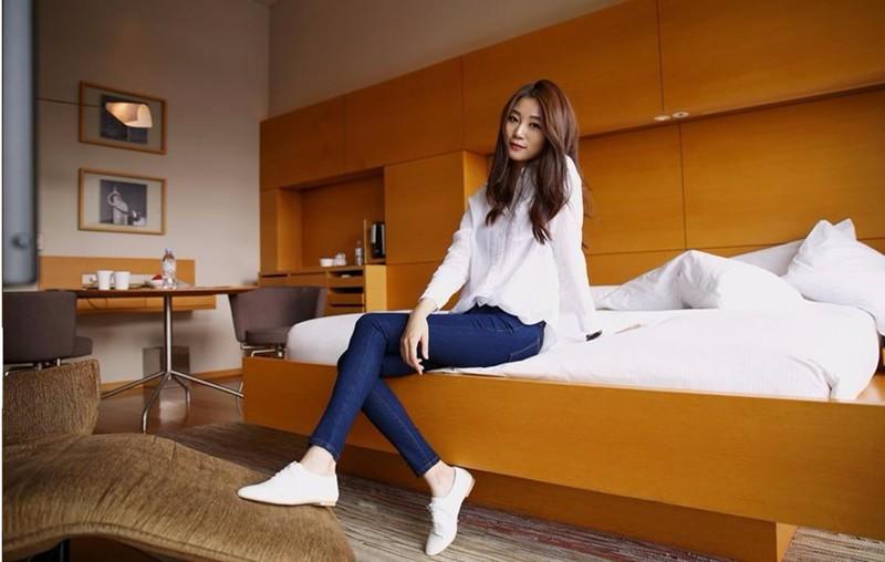 Mã số 580462 - Quần jeans nữ sành điệu 11