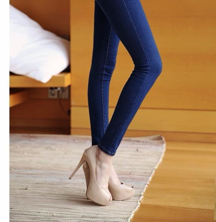 Mã số 580462 - Quần jeans nữ sành điệu 13