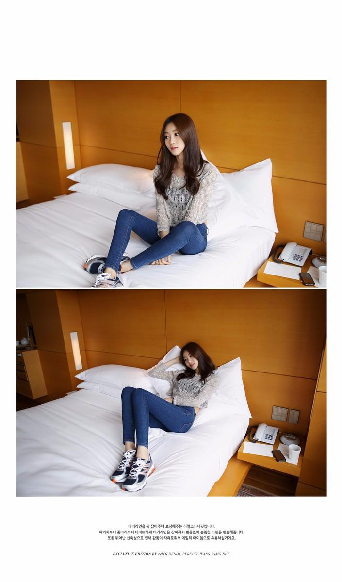 Mã số 580462 - Quần jeans nữ sành điệu 8