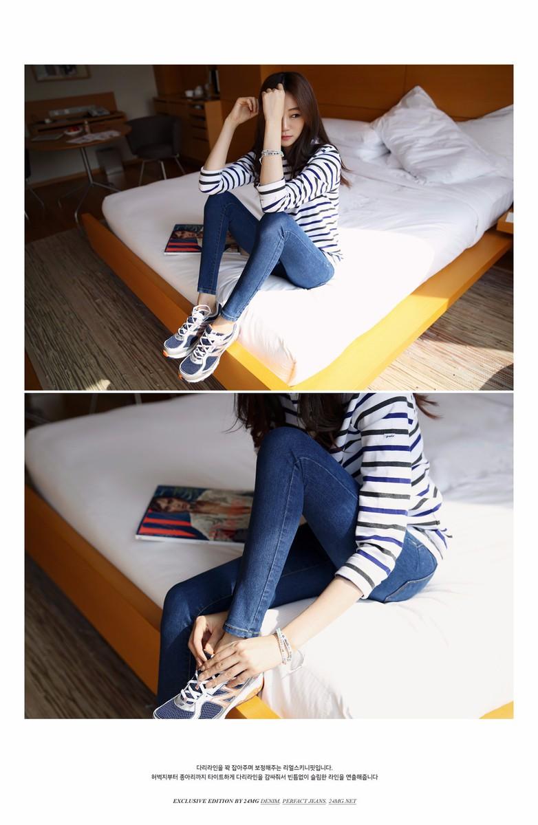 Mã số 580462 - Quần jeans nữ sành điệu 9