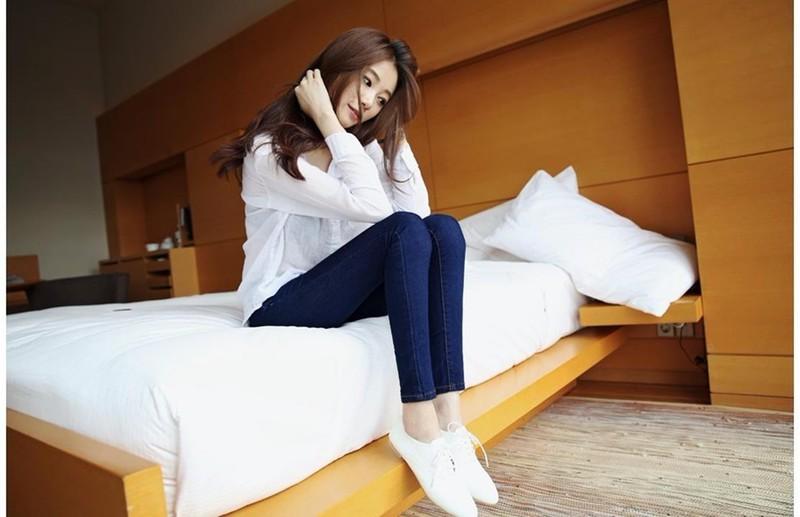 Mã số 580462 - Quần jeans nữ sành điệu 12