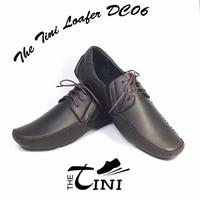 Mọi xuất khẩu Tini Loafer DC06 nâu