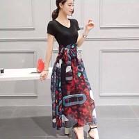 Đầm Maxi Cao Cấp Liền Nhau - Hàng Nhập - F09