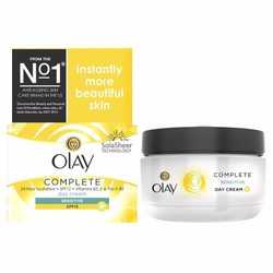 Kem dưỡng Olay Complete Sensitive Skin All Day UV Moisture SPF15